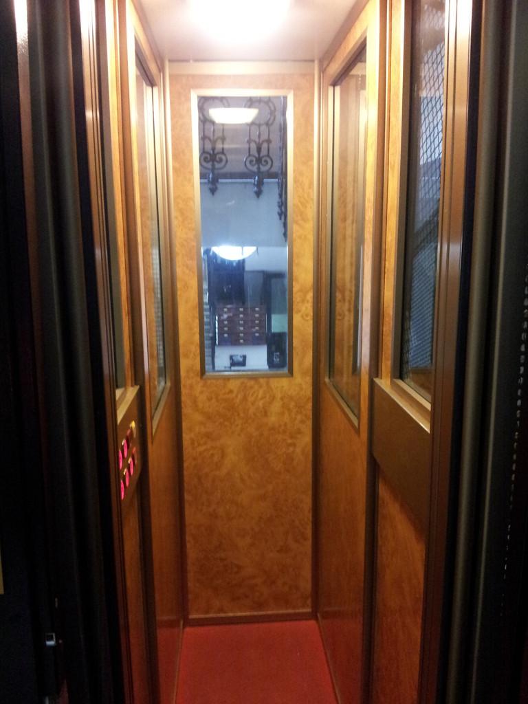 Aufzug im Hotel