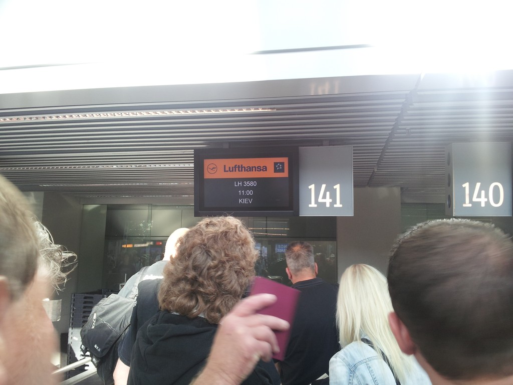 Checkin Düsseldorf