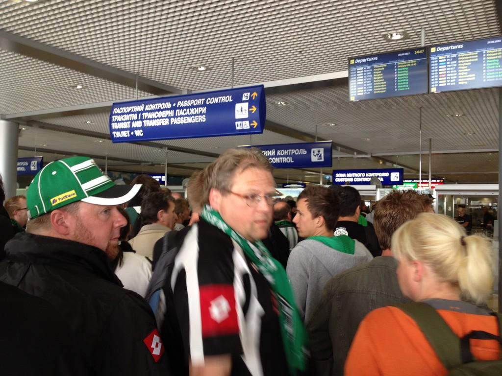 Ankunft in Kiew (ca. 14:45 Uhr)
