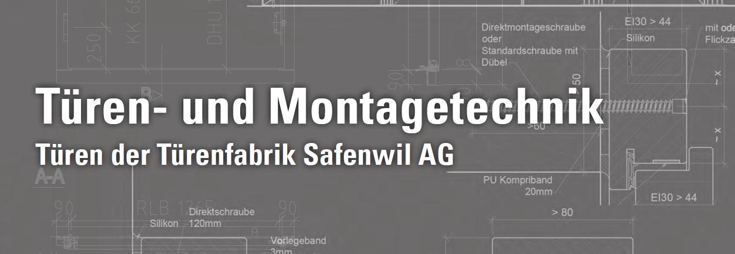 Türen- und Montagetechnik-Handbuch