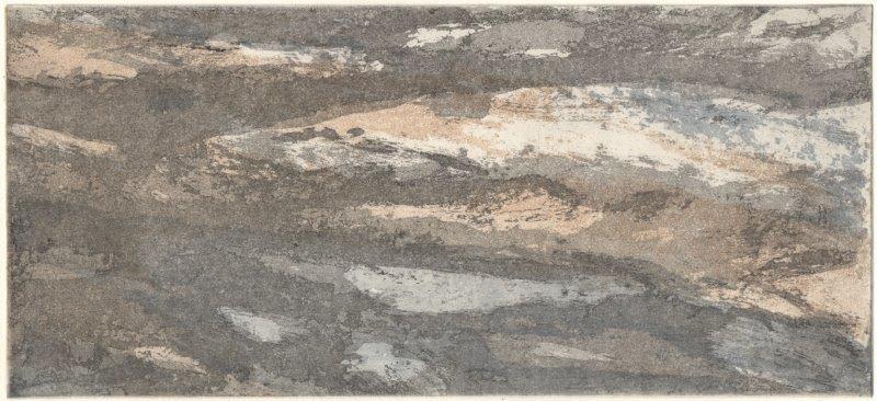 Niedziella, Waltraud, oT, Farbradierung-Reservage, 2011, V-V, 12,8x28,2 cm / 80 Euro