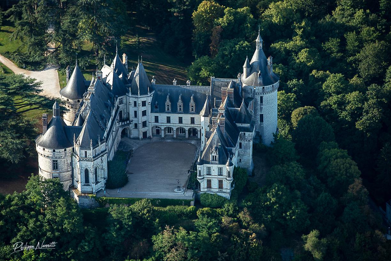 Château de Chaumont sur Loire (ULM)