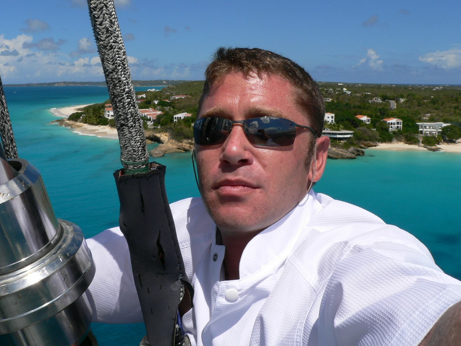 Chef Tristan Pontoizeau onboard S/Y Mari-Cha3