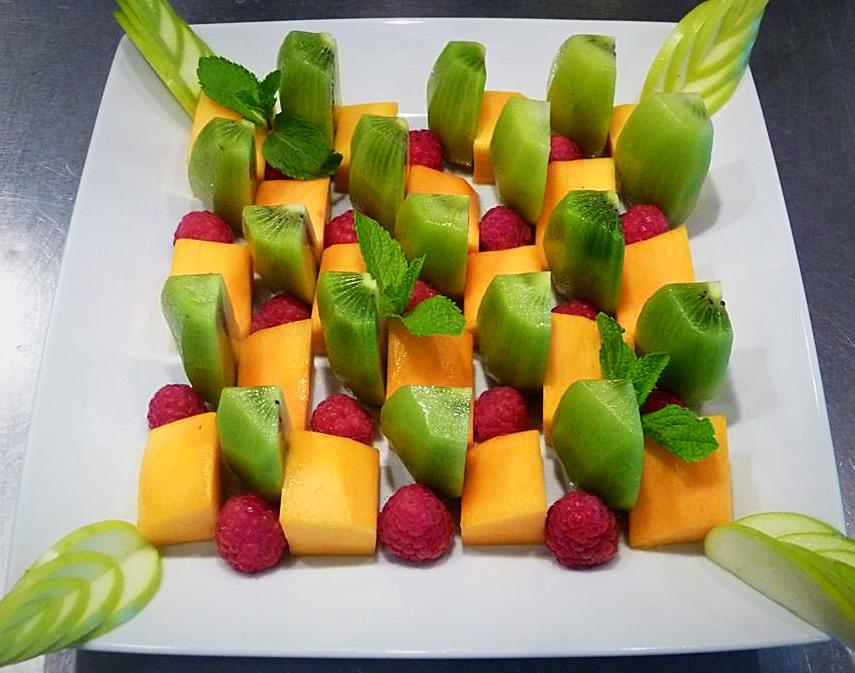 Damier de fruits