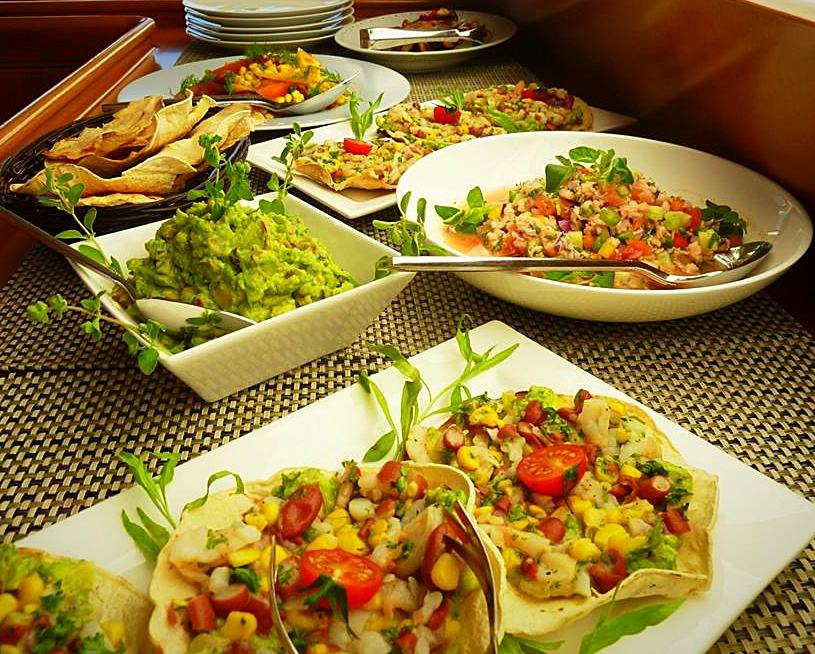 Buffet Mexicain