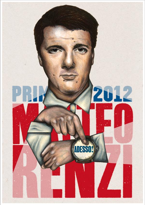 Matteo Renzi's poster