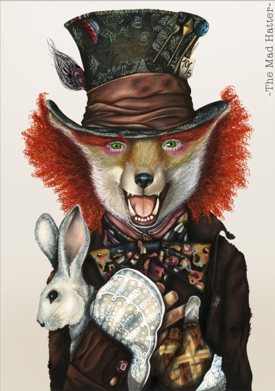 """The Mad Hatter""   Availables on:  www.manymaltshirt.com"