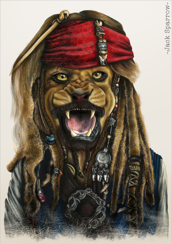 """Jack Sparrow""   Availables on:  www.manymaltshirt.com"