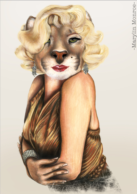 """Marylin Monroe""   Availables on:  www.manymaltshirt.com"