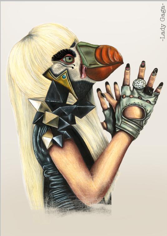 """""""Lady Gaga""""   Availables on:  www.manymaltshirt.com"""
