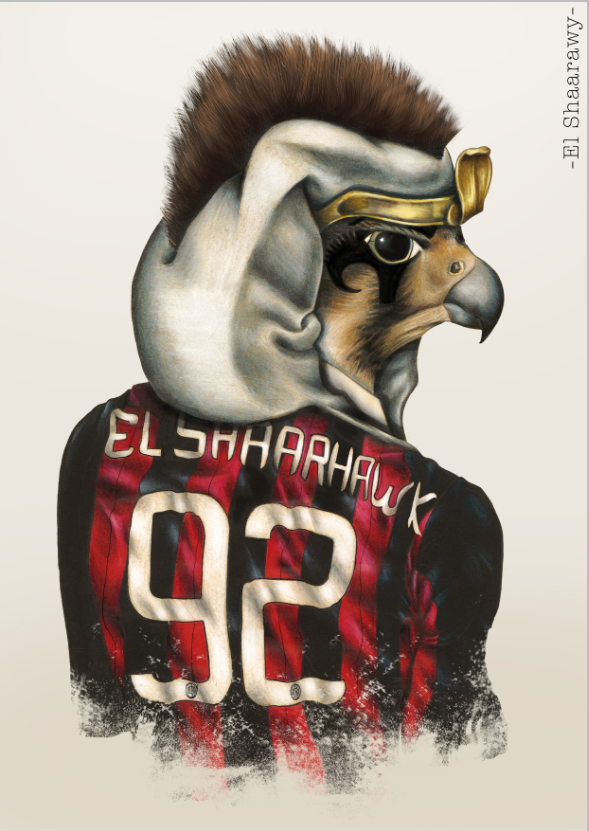 """El Sharaawy""   Availables on:  www.manymaltshirt.com"