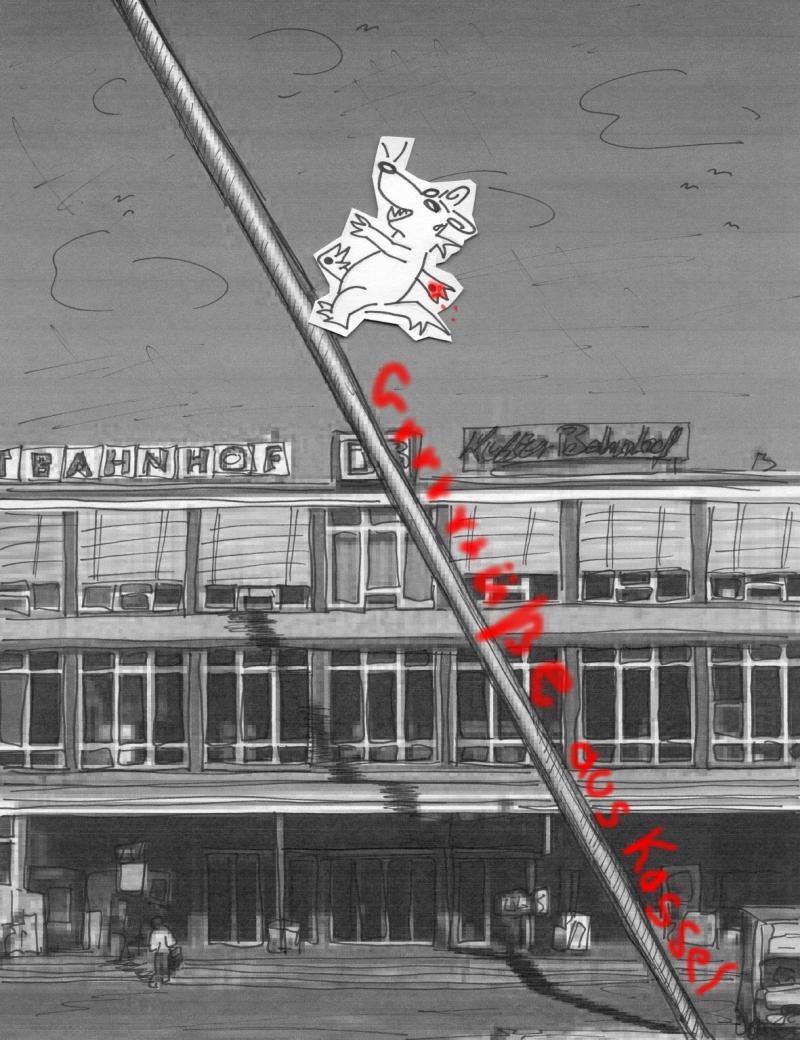 15.7.1955 Die erste documenta wird in Kassel eröffnet.