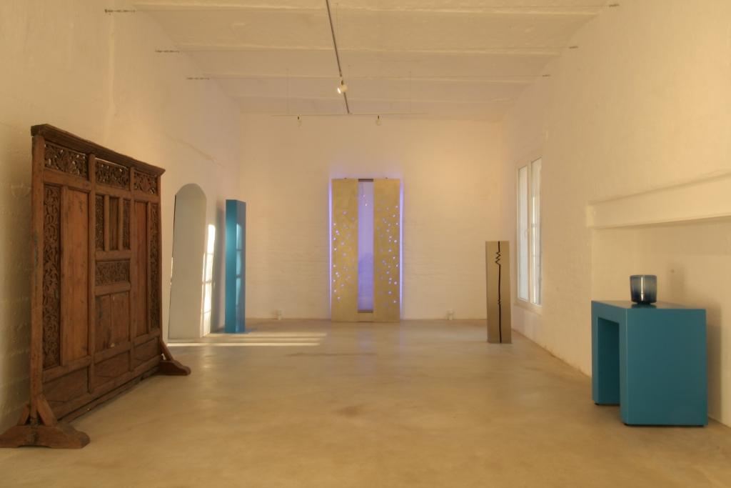 Foyer und Eingangsbereich mit einer Wasser-Licht-Installation - der ideale Raum für den Sektempfang