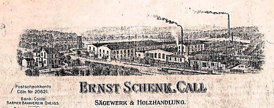"""die alte Fabrik von 1910 - Köln und Kall werden noch mit """"C"""" geschrieben"""