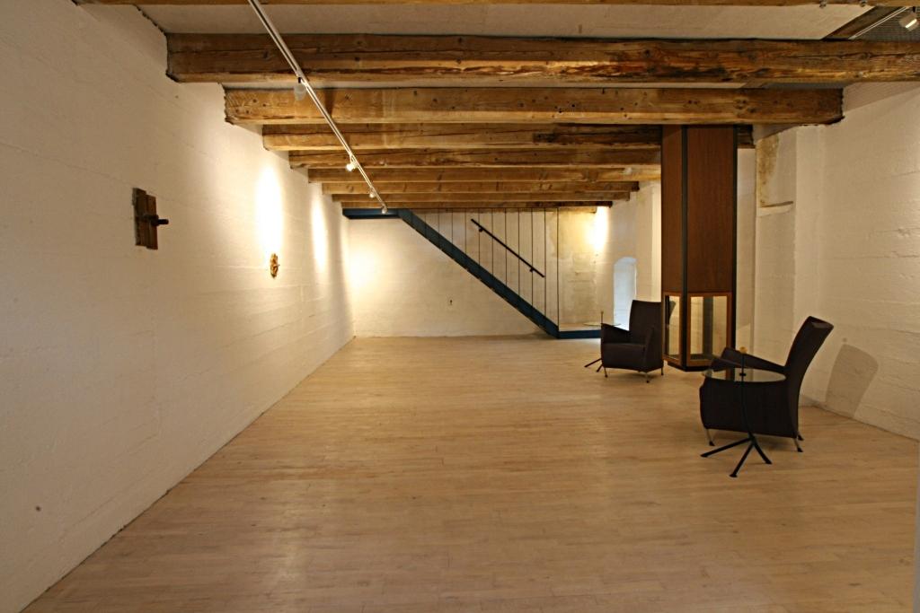 das Zwischengeschoss - Platz für Buffet oder Musik