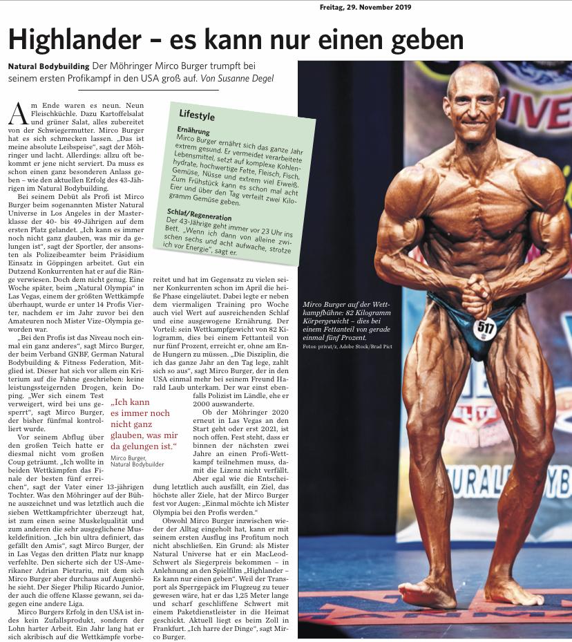 Erschienen am 29.11.2019 in der Stuttgarter Zeitung