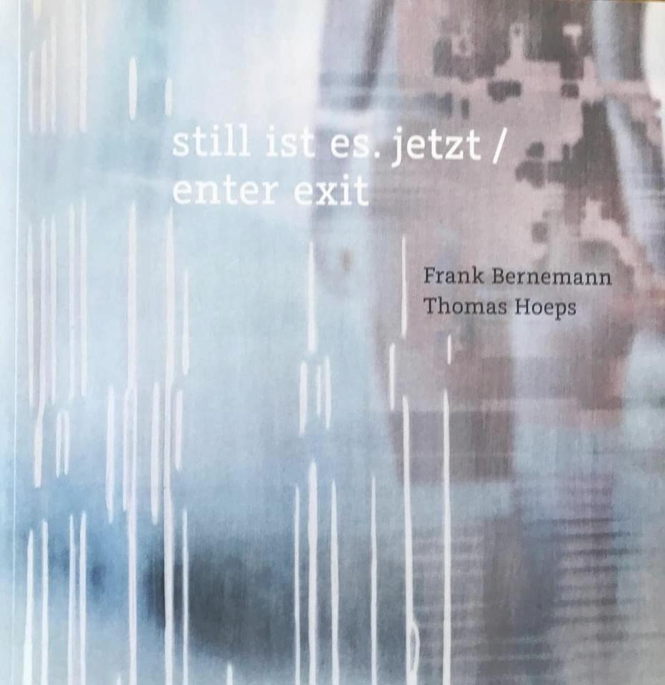 Da ist es endlich fertig ein wunderschönes Künstlerbuch mit den wunderbaren Texten von Thomas Hoeps und meinen Bildern