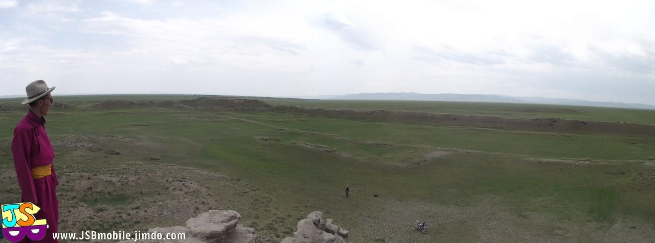 Les ruines de la cité de Khar Balgas