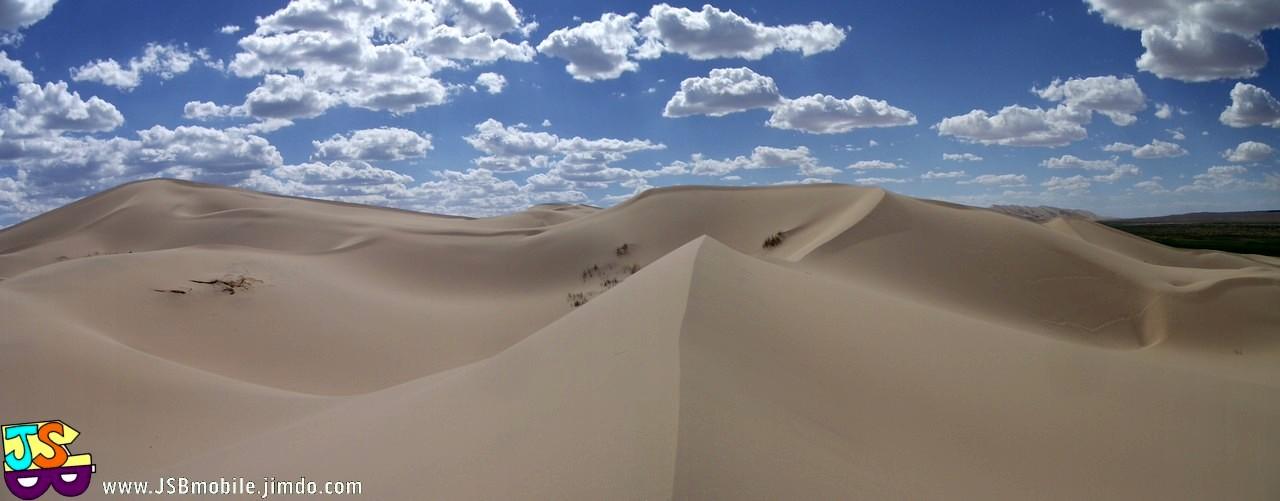 Du sable, du sable et encore du sable