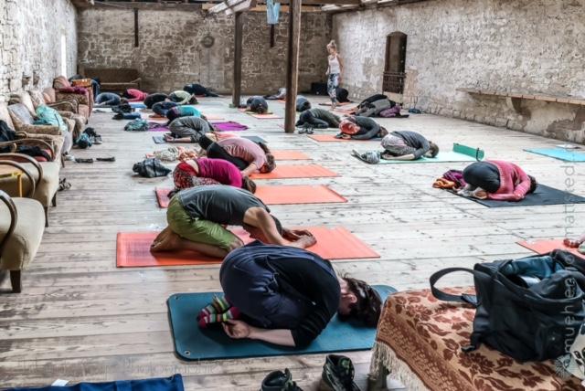 YogaMio Retreat - Yoga-Wochenende auf dem Mühlenhof Mattstedt in Thüringen