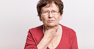 Kehlkopfspiegelung