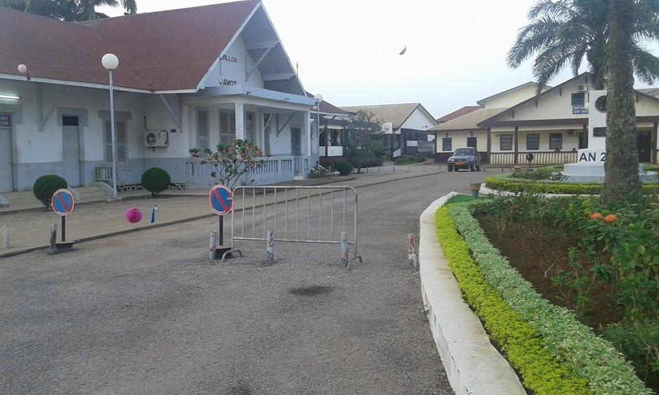 Hôpital Central de Yaoundé dans les années 2020
