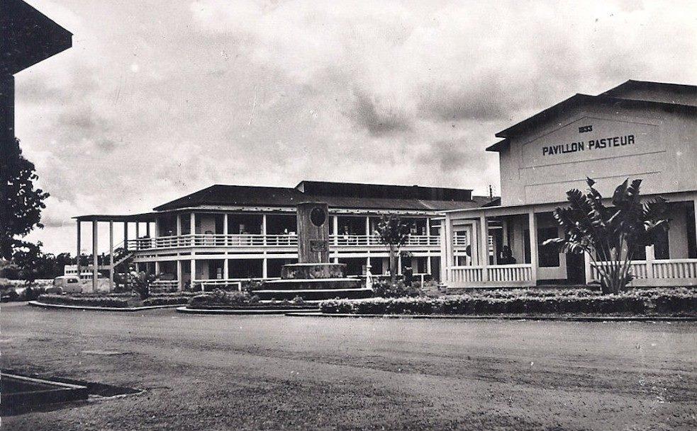 Hopital Central de Yaoundé dans les années 60