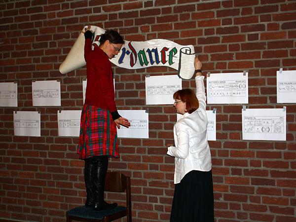 Klosterdance 2009 - so lautet der Titel des Balls.