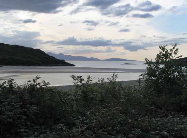 Bucht bei Mallaig - Road to the Isles