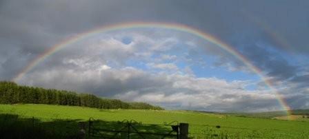 Das Land unter dem Regenbogen!