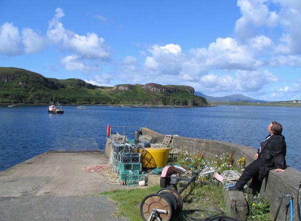 Bucht bei Tallisker - Skye