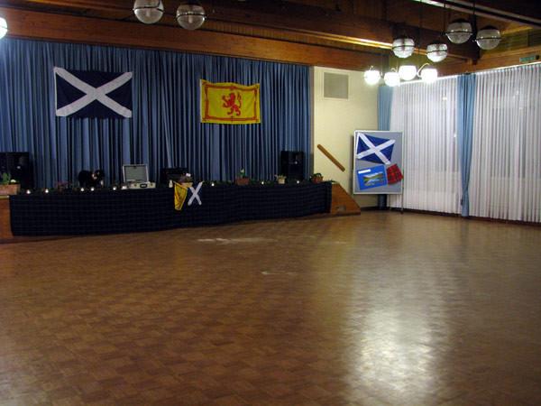 Tanzsaal im Kulturzentrum der Abtei Hamborn