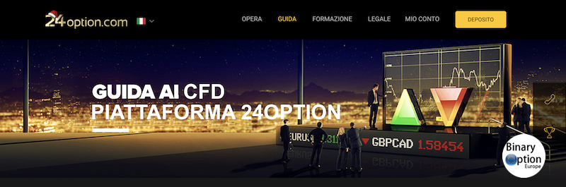 24option cfd trading piattaforma ESMA 2019