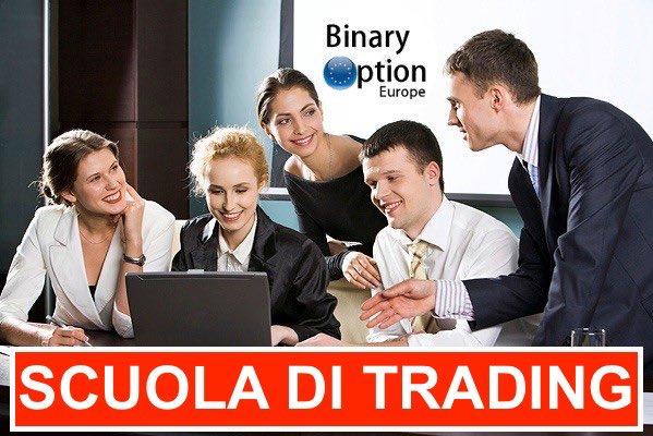scuola di trading per opzioni binarie forex criptovalute