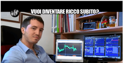 daniele repossi le iene video truffa