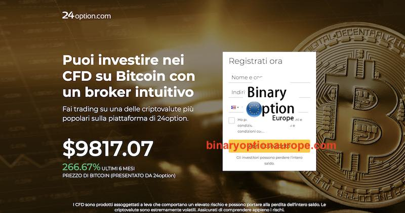 24option criptovalute bitcoin opinioni