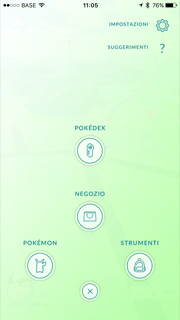 pokemon go - impostazioni