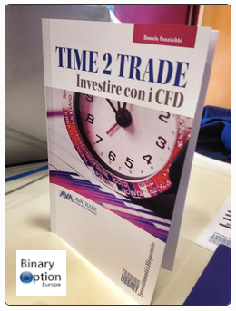 TIME 2 TRADE il libro di Daniele Ponzinibbi sconto binaryoptioneurope