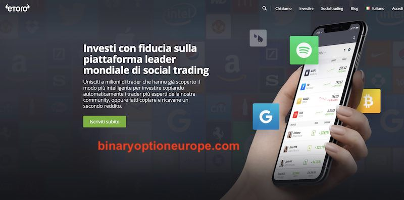 etoro trading sabato e domenica weekend
