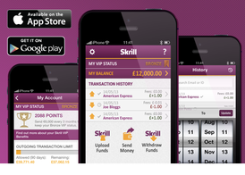Applicazione iPhone iPad Android Skrill gratis vip