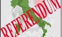 referendum costituzionale italia