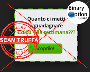 tradelg italiano truffa trading