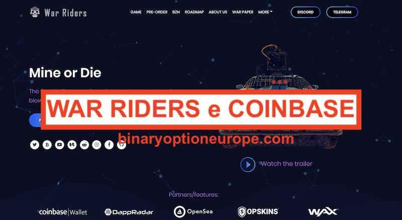 war riders coinbase