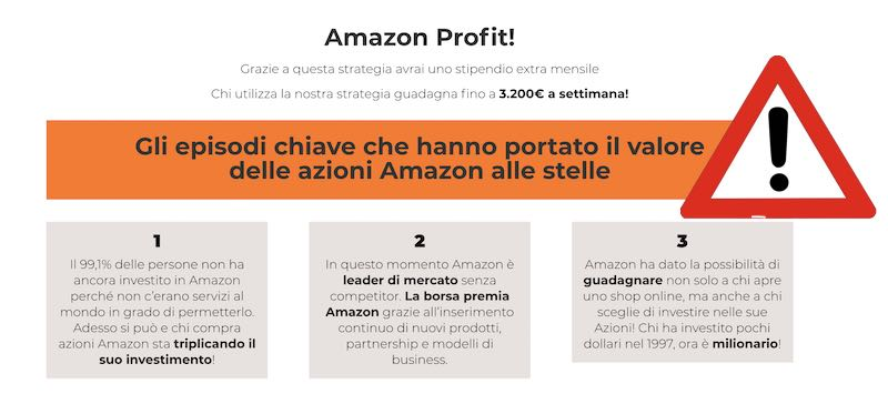 amazon profit truffa o no