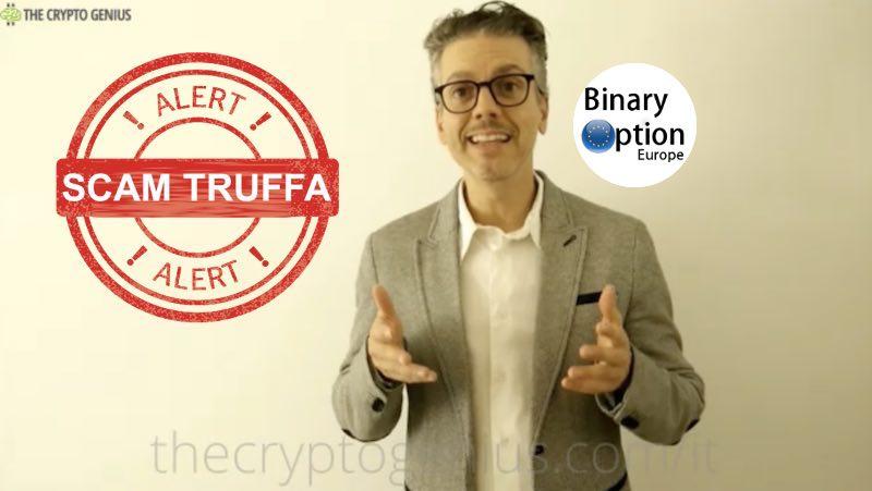 falso testimonial attore albanese crypto genius