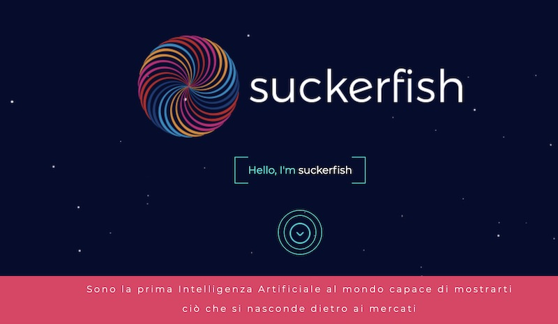 robot suckerfish.io daniele repossi truffa