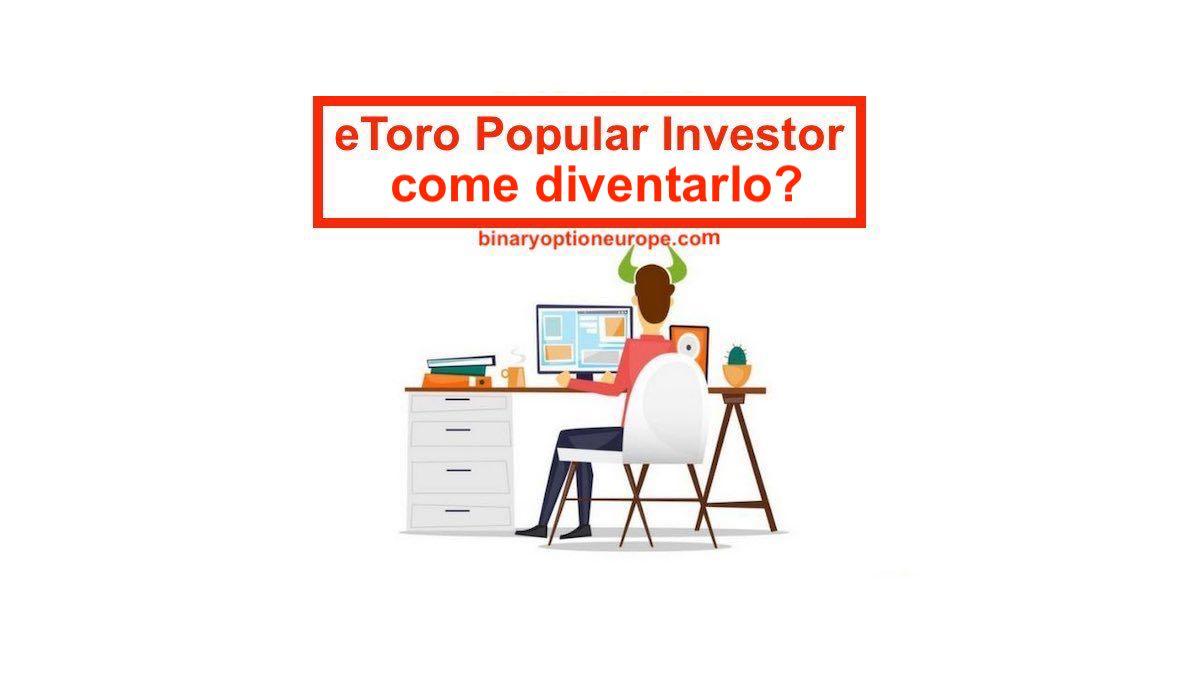 diventare popular investor etoro