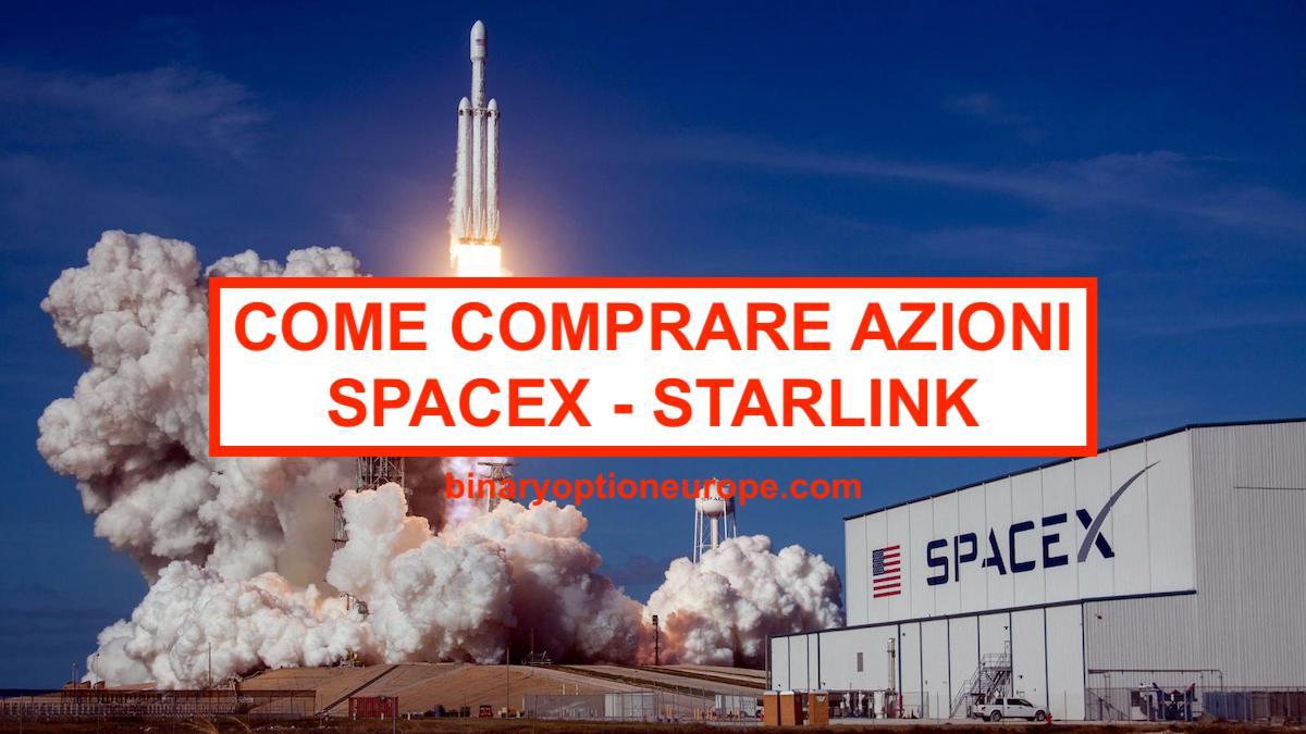 quotazione azioni spacex)