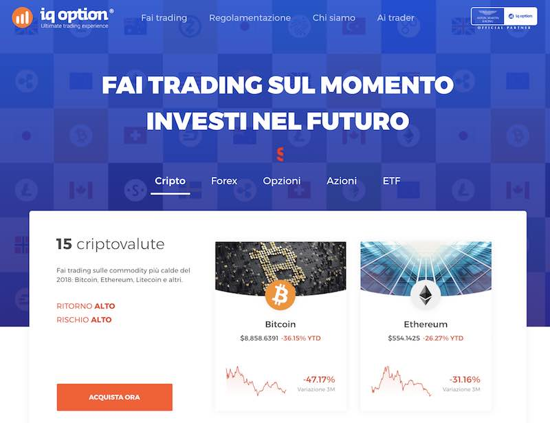 come fare trading con 100 euro iq option