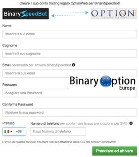 Registrarsi financial smart robot per opzioni binarie